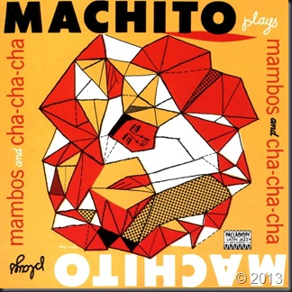 Plays mambos & chachacha-Machito-frente