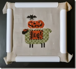 Counted Cross Stitch Boo