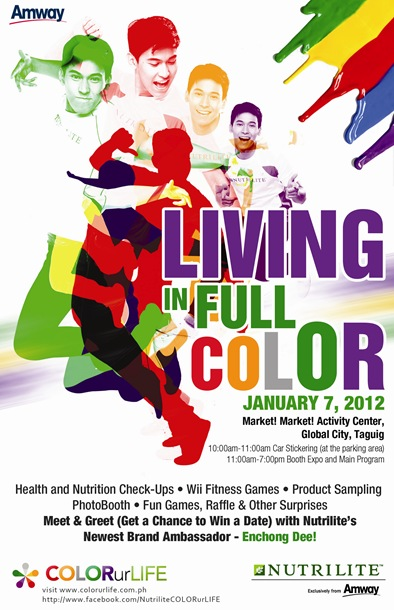 Living In Full Color Flyer
