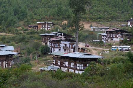 Sat in Bhutan langa Drukyel dzong