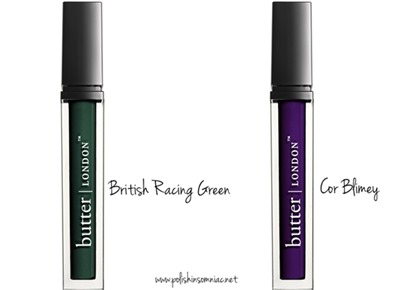 butter LONDON Brick Lane WINK Mascara in British Racing Green and Cor Blimey