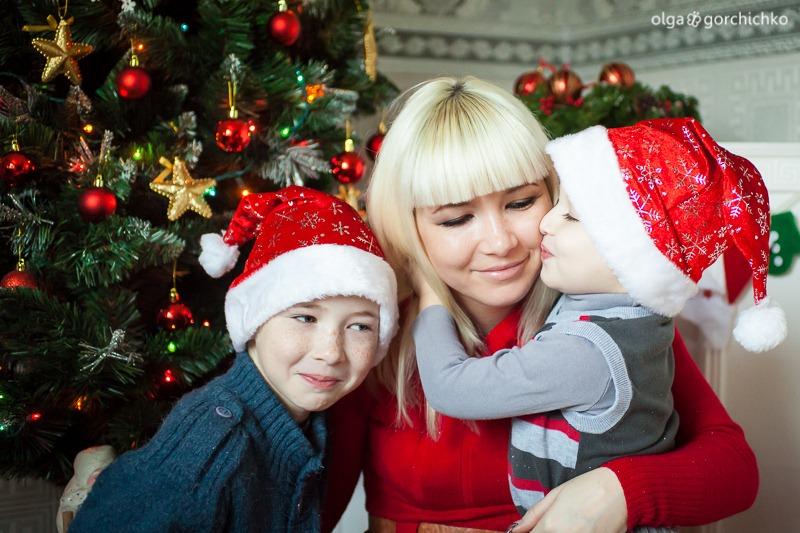 Детский новогодний фотопроект Рождественские мечты. 23. Дима и Саша-0410