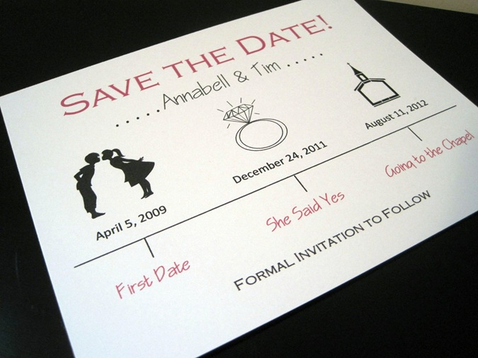 cute-wedding-save-the-date-ivory-red-black