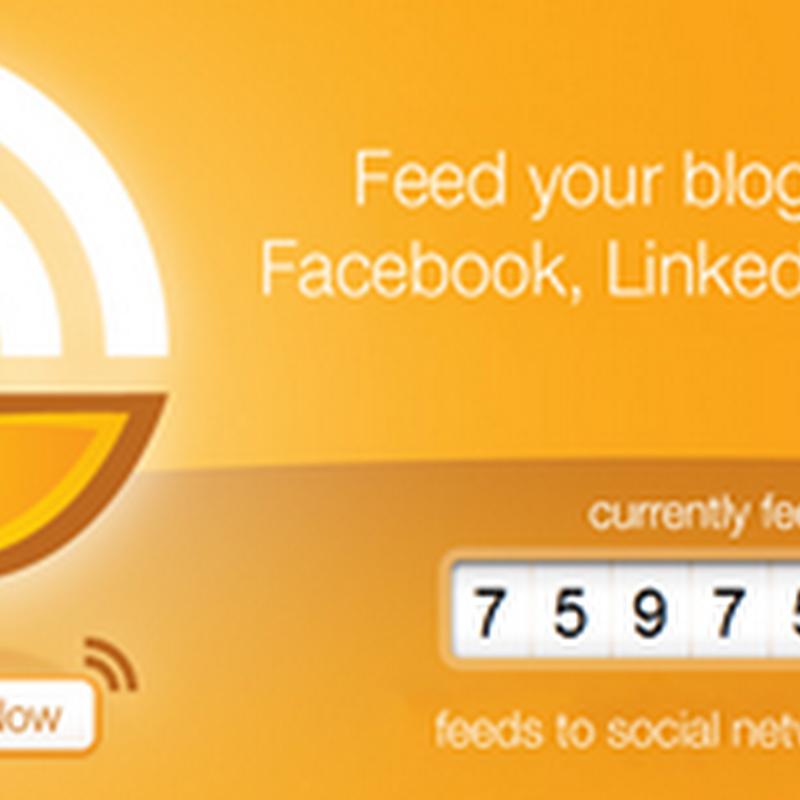 บริการแจ้งข่าวสารด้วย Feed ไปยัง Facebook ,twitter และ App net ฟรีๆ