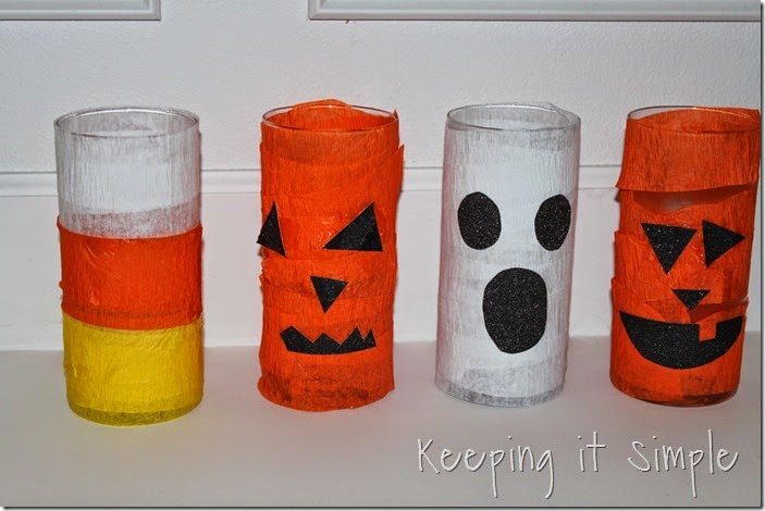 Halloween pumpkin flower vase #kidscraft (5)