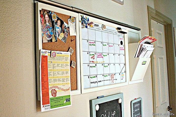 Organized Family Calendar