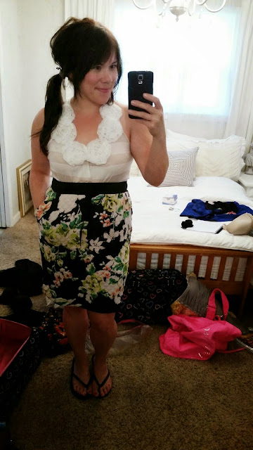 Cute roundup of skirts and dresses that you can wear year around.