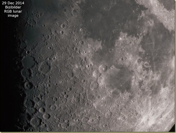 29 December 2014 RGB Moon