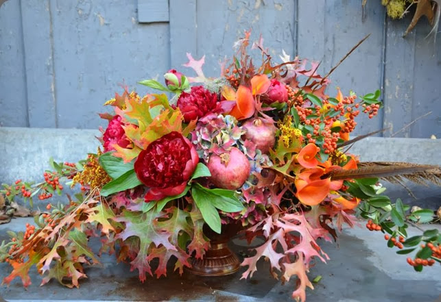 fall chestnut & vine floral design 1469738_687867957898861_898896184_n