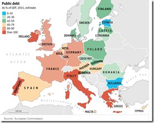 Europe dette publique