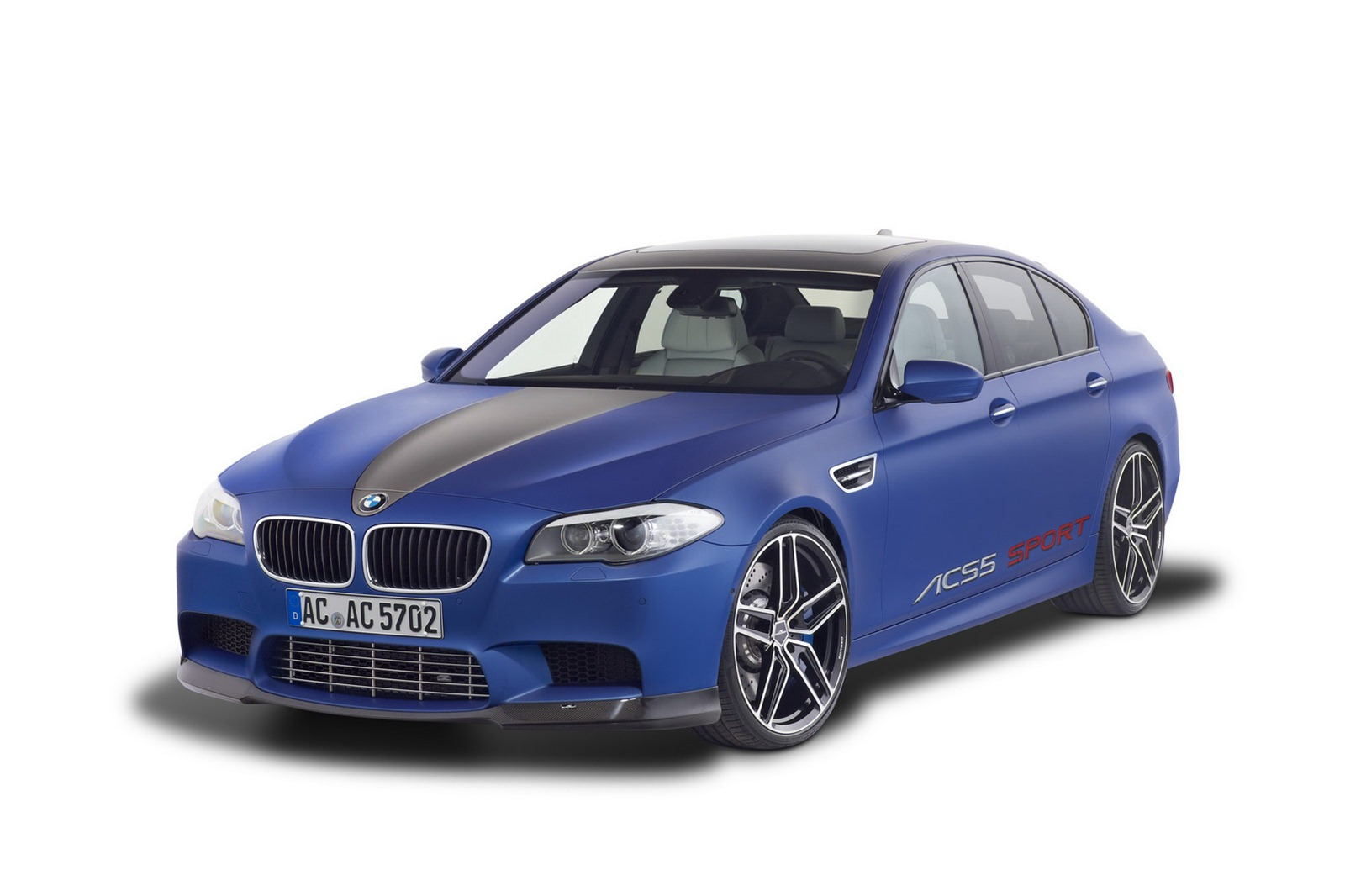 Ac Schnitzer Gives The Bmw M5 Saloon 612 Horsepower