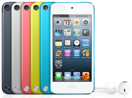 iPod Touch 5G Colors