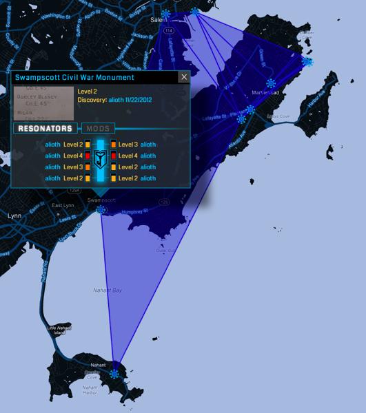 Larger area control fields