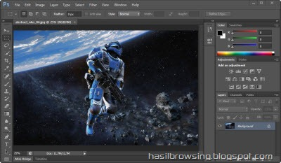 photoshop CS 6 screenshot