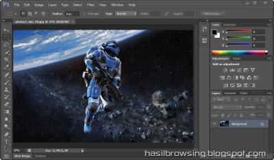 photoshop CS 6 screenshot