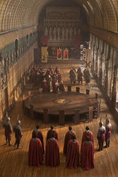 The Round Table at Camelot
