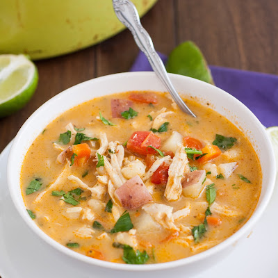 Chipotle Chicken Chowder