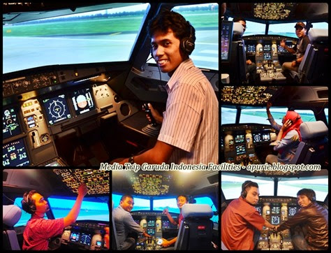 Inside Flight Simulator
