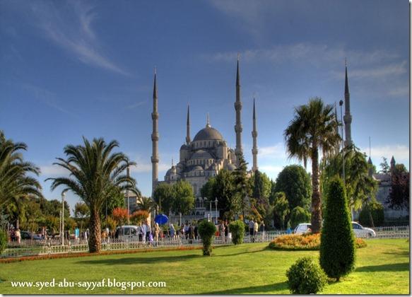 Masjid Sultan Ahmed – Istanbul, Turki
