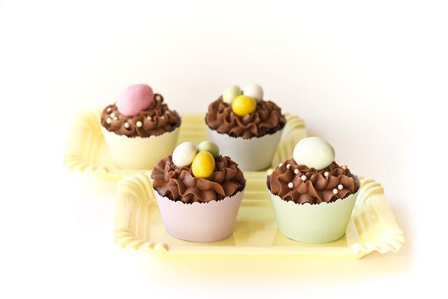 enkle og søte cupcakes til påske IMG_6273