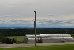 greenhouse at the University of Alaska