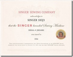 singer 185j3