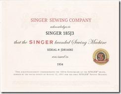 singer 185j3