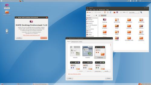 Mate su Ubuntu 12.04 Precise