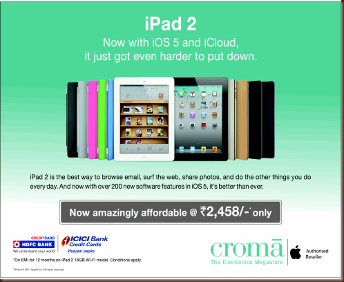 Croma iPad