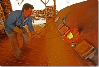 Sand Kiln Firing 178