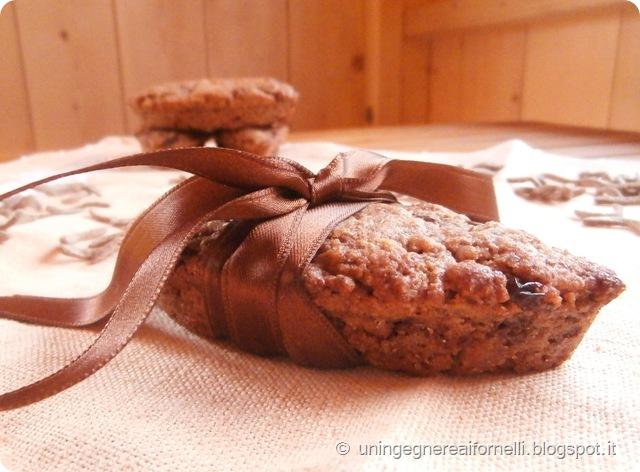 cereali cioccolato riso soffiato uvetta semi lino crusca barrette mandorle