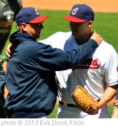 'Justin Masterson and Terry Francona' photo (c) 2013, Erik Drost - license: http://creativecommons.org/licenses/by/2.0/