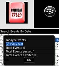 Agenda para Blackberry