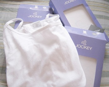 jockey white camisoles, bitsandtreats