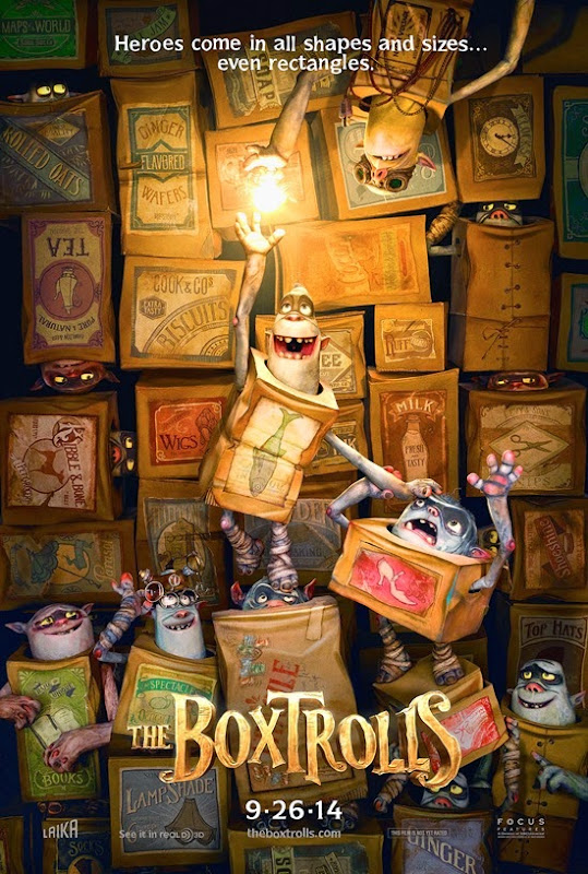 The Box Trolls - one sheet