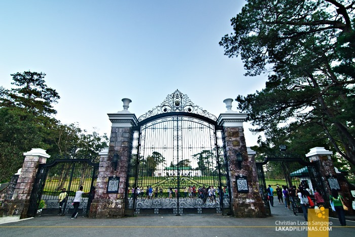 The Mansion's Gate at Baguio City's Wright Park