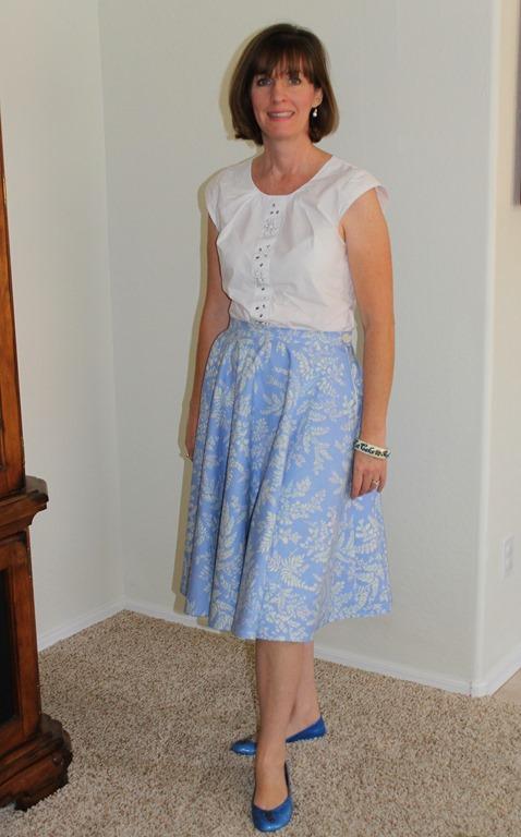 circle skirt 035-001