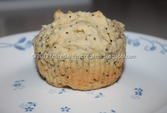 Lemon Poppy Seed  Muffins - single