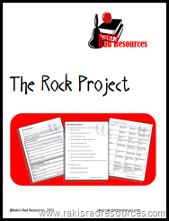The Rock Project - A Research Project for your Literacy Centers