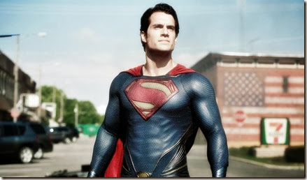 Henry Cavill portrays Superman in 'Man of Steel.'
