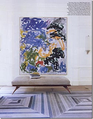 Jason Martin painting via elle decor
