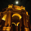 Night View of Palace of Fine Arts