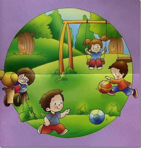 derechos de los niños en color | pintar y jugar, dibujos para jugar