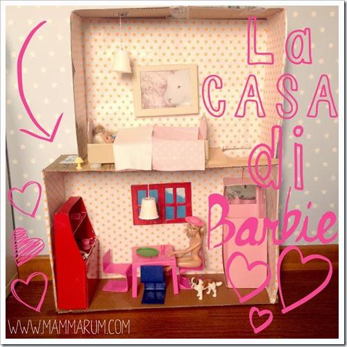 Mammarum casa di barbie fai da te con il cartone - Casa di cartone ...