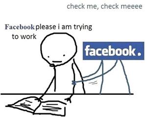 facebook distraction