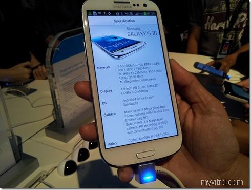 Pelancaran Samsung Galaxy SIII 12