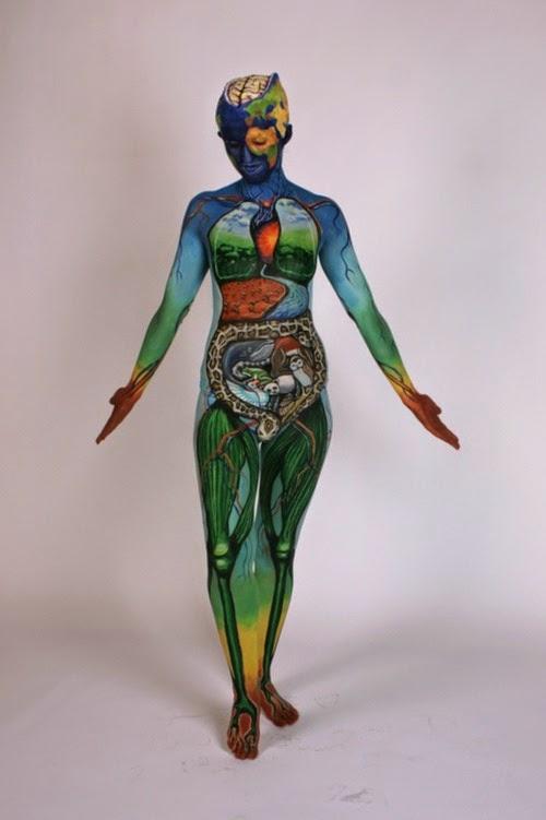Arte corporal anatomia humana 03