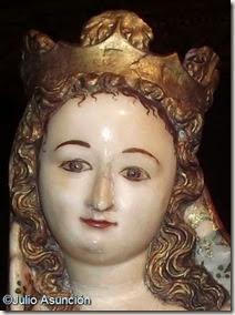 Sonrisa de la Virgen de Huarte