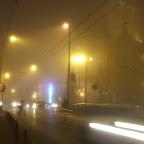 Timișoara în ceață