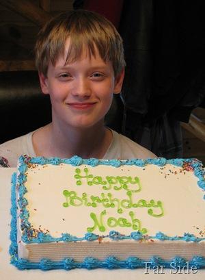 Noah's is twelve